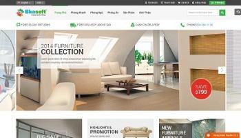 Thiết kế website kiến thức nội thất xây dựng