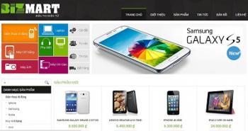 Thiết kế website cửa hàng điện thoại