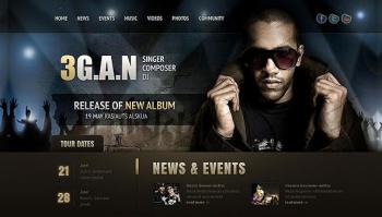 Thiết kế website nghệ sĩ, cá nhân chuyên nghiệp