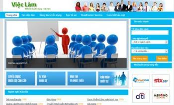 Thiết kế website việc làm – tuyển dụng