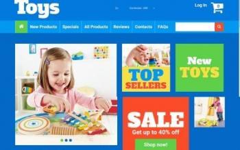 Thiết kế website đồ chơi trẻ em