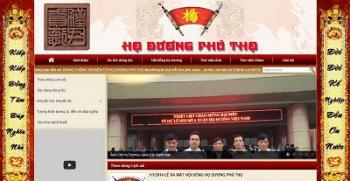 Thiết kế website gia đình dòng họ