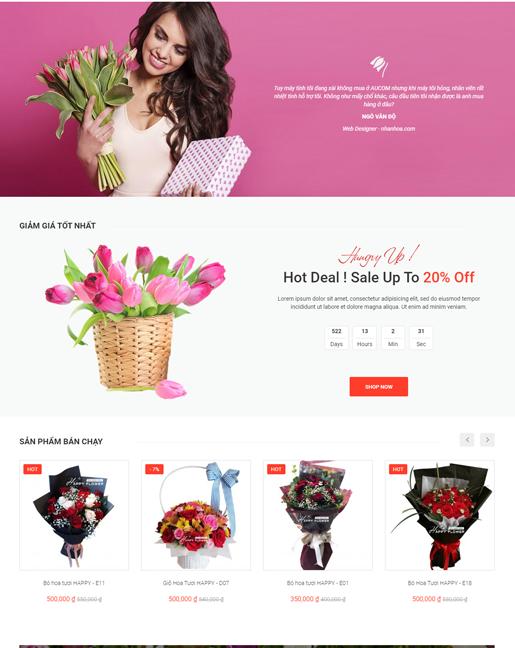 Shop hoa